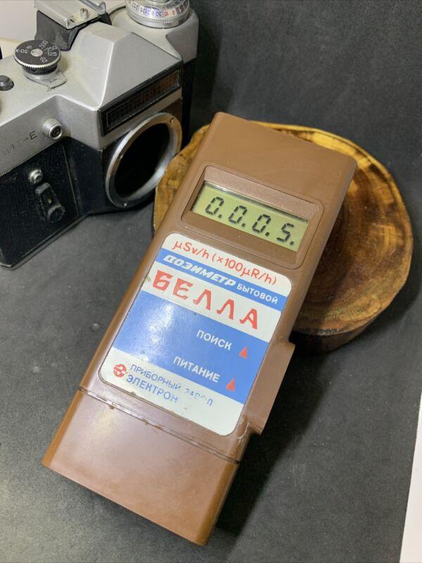 Bella Dosimeter Radiometer Geiger Counter Radiation Detector Pripyat Terra #3117