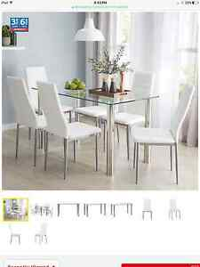 7 piece dining set St Lucia Brisbane South West Preview