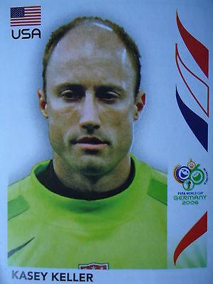 PANINI 342 KASEY KELLER USA FIFA WM 2006 GERMANY