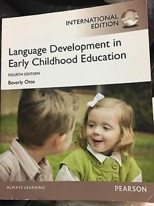 Language Development in Early Childhood Education Bunbury Bunbury Area Preview