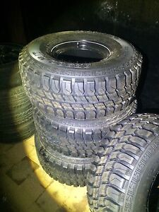 """33""""mud tyres brand new on 10"""" sunraiser rims Bligh Park Hawkesbury Area Preview"""