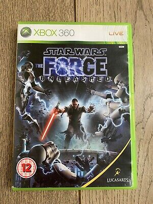 Star Wars: The Force Unleashed (Xbox 360) ,Good Condition ,