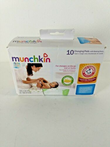 Munchkin Arm and Hammer Disposable Changing Pad 10 Count Size 10-pack 11283 Aoi