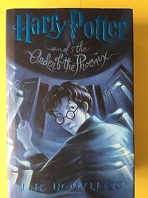 Harry Potter & the Order of the Phoenix Book 5 Hardbound W/DJ. JK Rowling Magic2