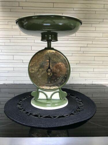 Antique Vintage Salters Kitchen Scale