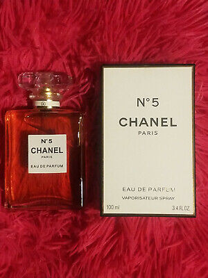 Chanel No. 5 By Chanel Women's 3.4 oz / 100 ml Eau De Parfum Brand New & Sealed