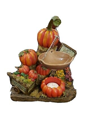 Yankee Candle Marex Pumpkin Stand Fragrance Wax Tart Warmer Fall Halloween Decor