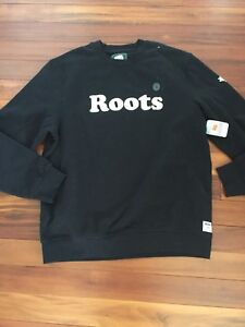 Men's roots sweater NWT size L