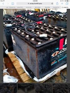 Wanted  fork lift Batteries