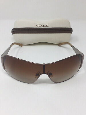 Vogue VO3640-SB Damen Sonnenbrille Sun Glasses gold-braun 560/13 120 + Etui