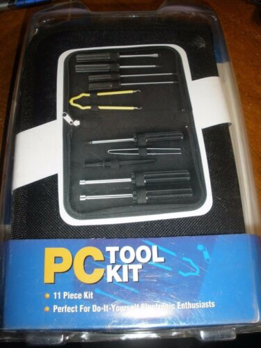 NEW iConcepts PC Tool Kit 11 pieces
