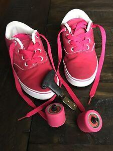 Heelys pink size youth 1 /13 /19cm