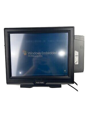 Touch Dynamic Breeze All-in-one Touchscreen Pos System Win Xp W Card Scanner