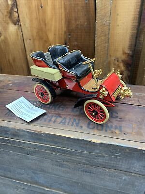 Franklin Mint 1903 Ford Model A 1:16 Scale Diecast Model red Car Free ship