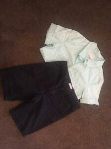 Witchery boys top and shorts size 7, excellent condition Kew Boroondara Area Preview