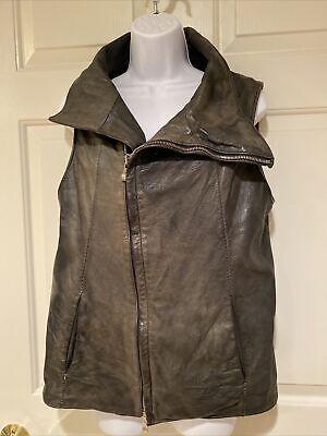 Incarnation Men's Leather Jacket Vest - pre-owned - Size S