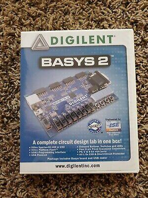 Digilent Basys 2 Board Fpga Development Kit