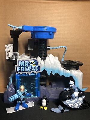 Imaginext DC Super Friends Mr. Freeze Headquarters Arctic Fortress Lair Playset