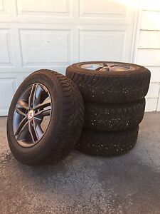 Goodyear winter tires and rims