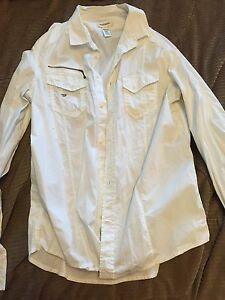 Men's Large Diesel dress shirt **only worn once** Strathcona County Edmonton Area image 2