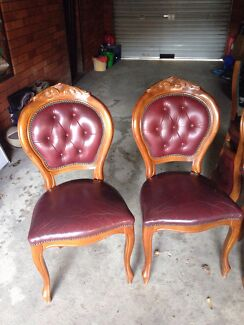 6X Chairs  Ryde Ryde Area Preview