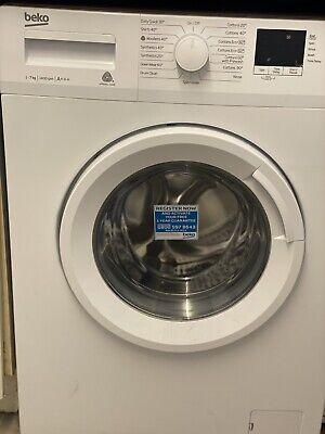 Beko washing machine Wtb740e1w 7kg 1400 Spin - 2 years transferable warranty