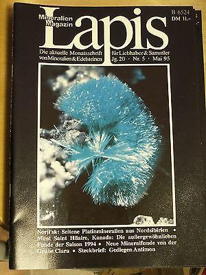 1 Heft Lapis, Ausgabe 1995 Nr. 5, gebraucht