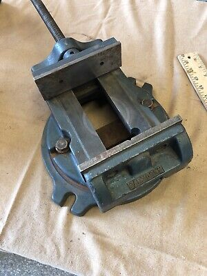 Palmgren 6 Milling Machine Vise Open In Middle Rotates 360 Degrees 6.25 Width