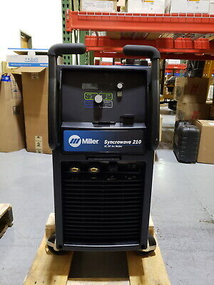 Cosmetically Repaired Miller Syncrowave 210 Tigstick Welder 907596