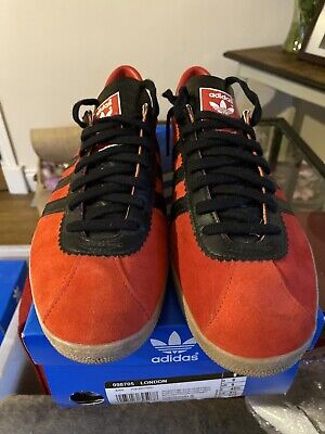 Adidas London (2008) UK9 Excellent Condition With Tags. Rare Deadstock