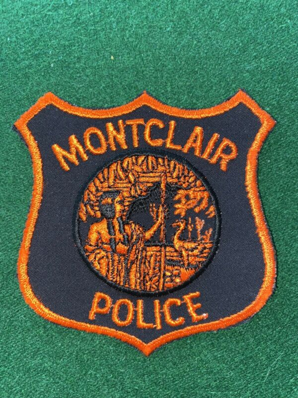 Montclair New Jersey Police Patch