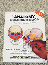 The Anatomy Coloring Book by Wynn Kapit and Lawrence M Elson Lane Cove North Lane Cove Area Preview