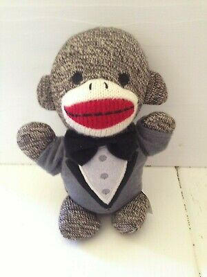 Brybelly Holdings The Sock Monkey Family Just Married Brayden 6.5