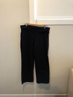 Ripe maternity black dress pants