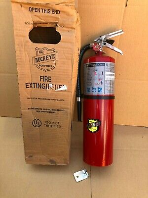 New Buckeye Fire Extinguisher 11340 Dry Chemical 10 Lbs