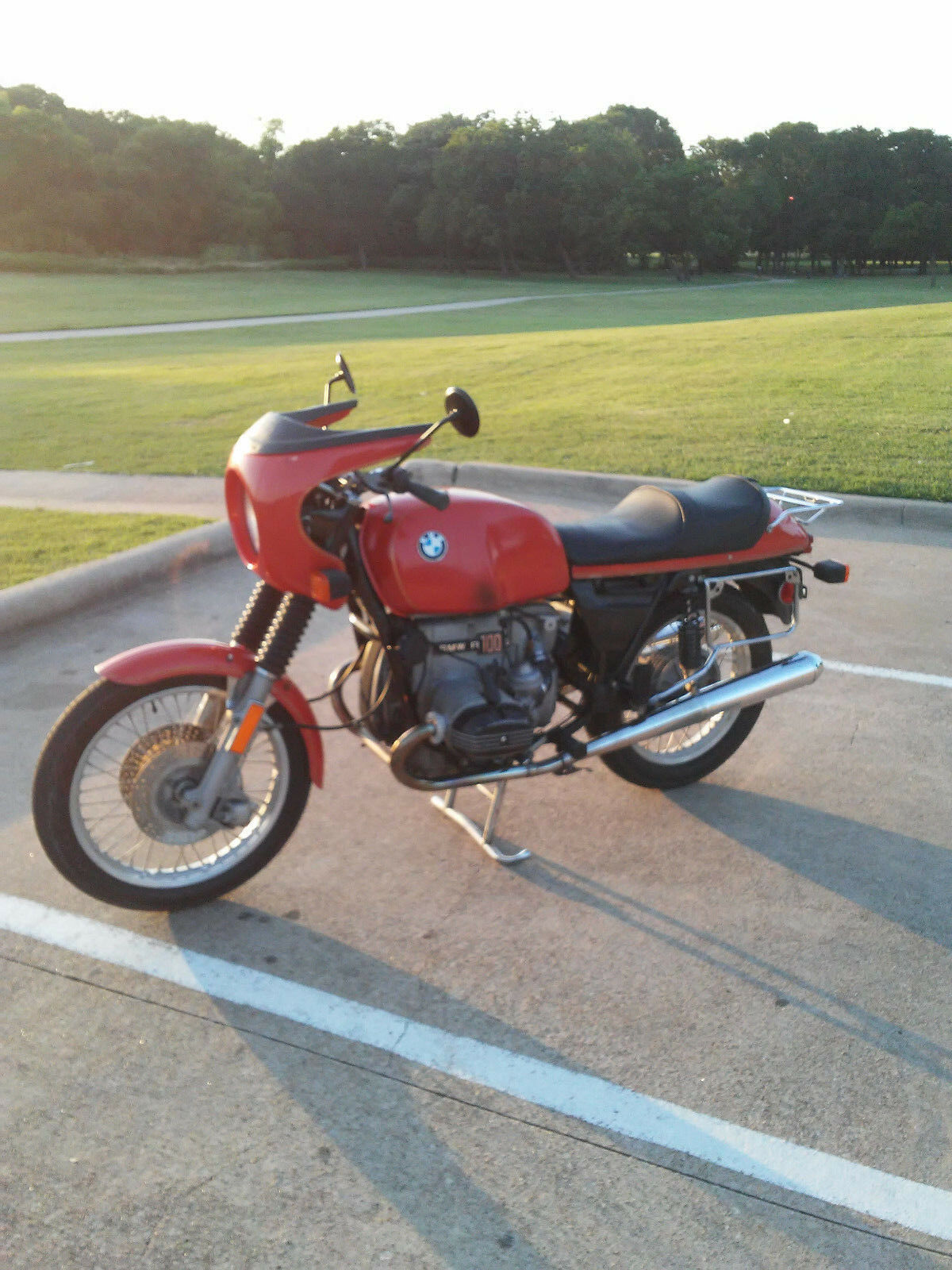 1977 BMW R-Series  BMW R100S 1977 Motorcycle Vintage Airhead Runs Great with Luggage and extra