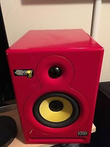 KRK Rokit 5 Special Ed. Red Studio Monitors