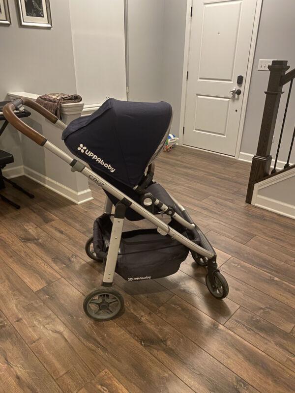 UPPAbaby 0417-CRZ-US-GRG Cruz Stroller - Blue Melange/Silver