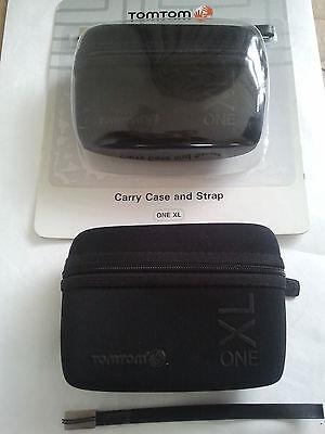 ORGINAL Tom Tom ONE XL Tasche Und Riemen,,Carry Case  Orginal TomTom NEU!!!! One Xl Carry Case