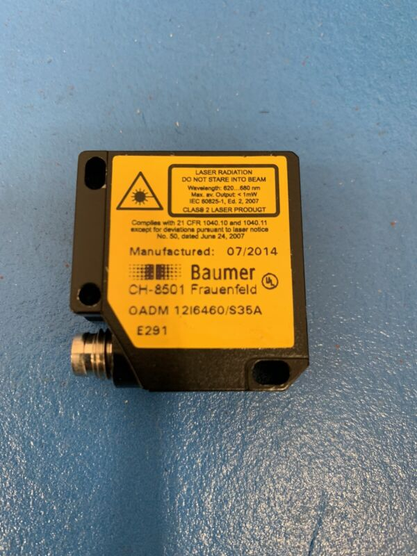 Baumer OADM 12I6460/S35A Distance Laser Position Sensor M8 CH-8501