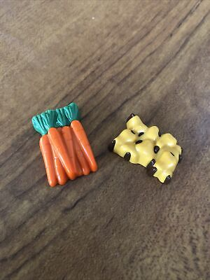 PLAYMOBIL # 4155 ADVENT CHRISTMAS CALENDAR PART / PIECE DAY 13 Carrots Nuts Feed