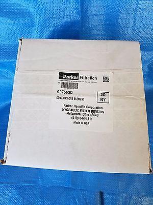 Parker Hydraulic Filter 927663q Hc8300fkp8h 2q Ry 2 Micron Viton Seals New Box