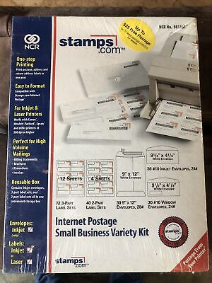 Stamps. Com Internet Postage Small Business Variety Kit New