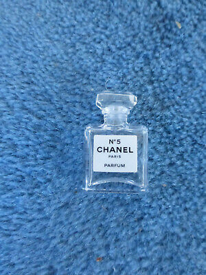 miniature parfum Chanel N°5 Paris mini parfum deco collection flacon bouteille
