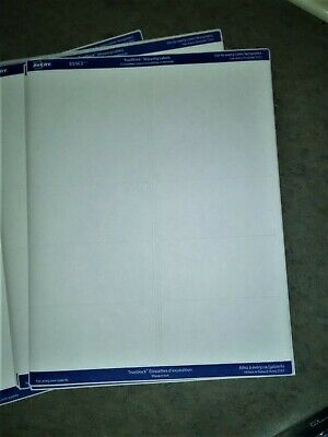 Avery White Shipping Labels - 2 Width X 4 Length 10 Sheets 100 Labels