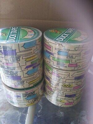 6 Rolls Duck Duct Tape City Skyline Decor 1.88 X 10 Yd New