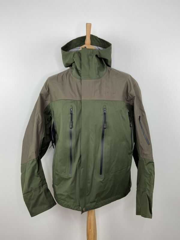 Orvis Sonic Tailwaters Hooded Wading Jacket Fishing Rain Coat - Size L