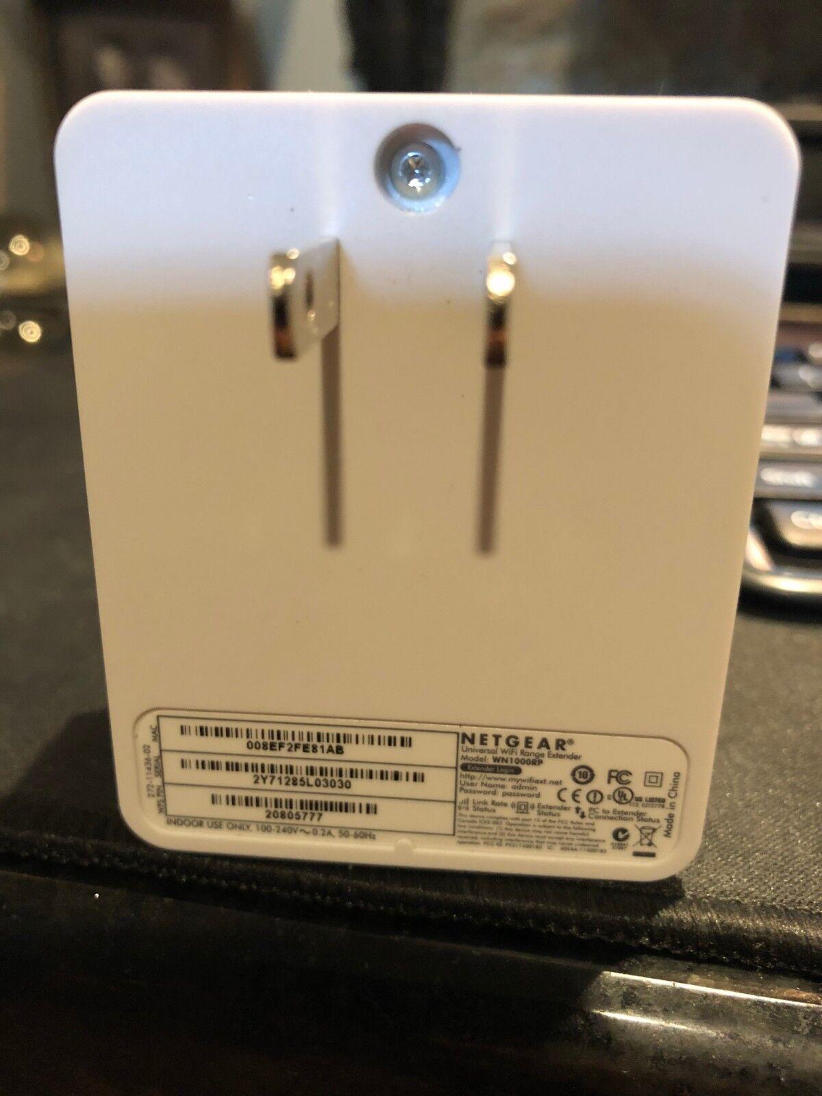 Netgear Universal WiFi Range Extender WN1000RP