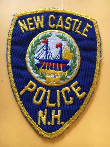 New Castle New Hampshire Vintage Police Patch