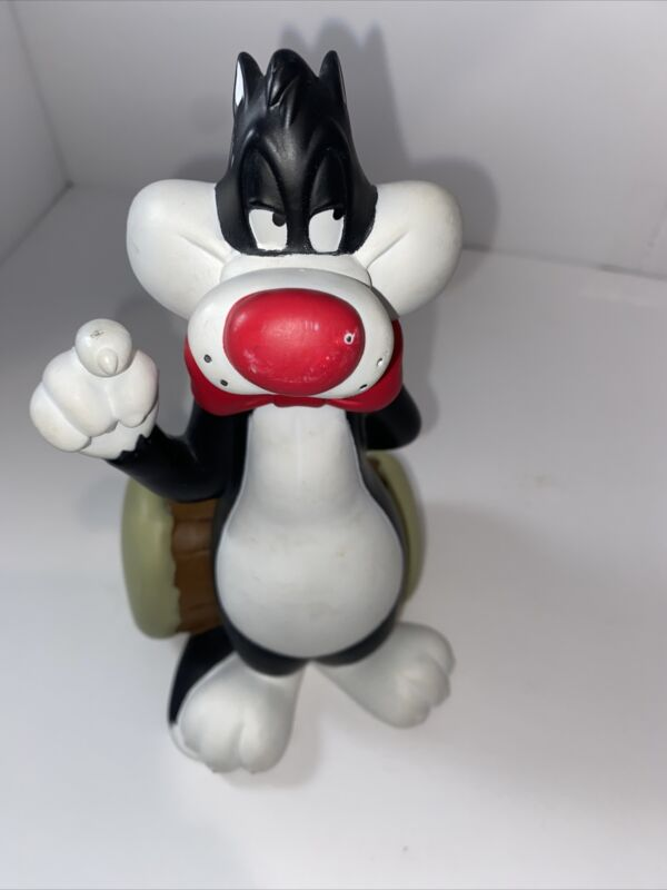 Vintage Warner Bros Sylvester Cat Bank Looney Tunes 1998